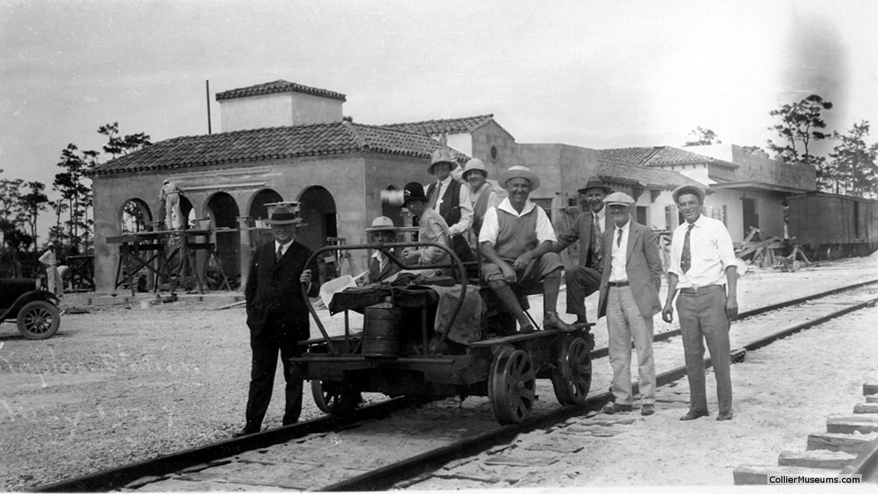 Naples Depot Museum under construction