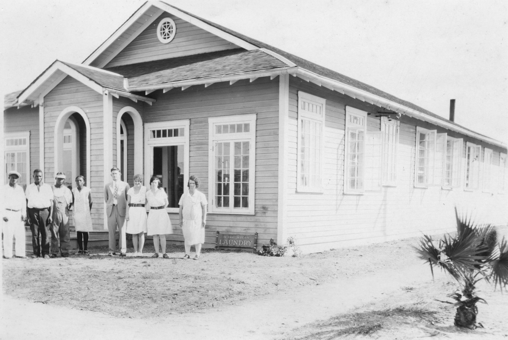 Everglades Laundry Historic Photo