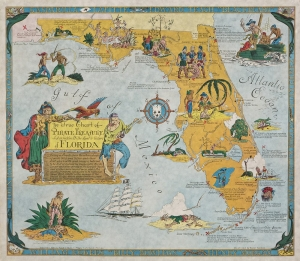 1950 Pirate Map