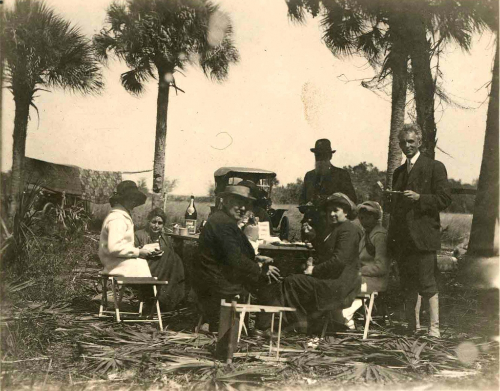 Edison and Ford in the Everglades