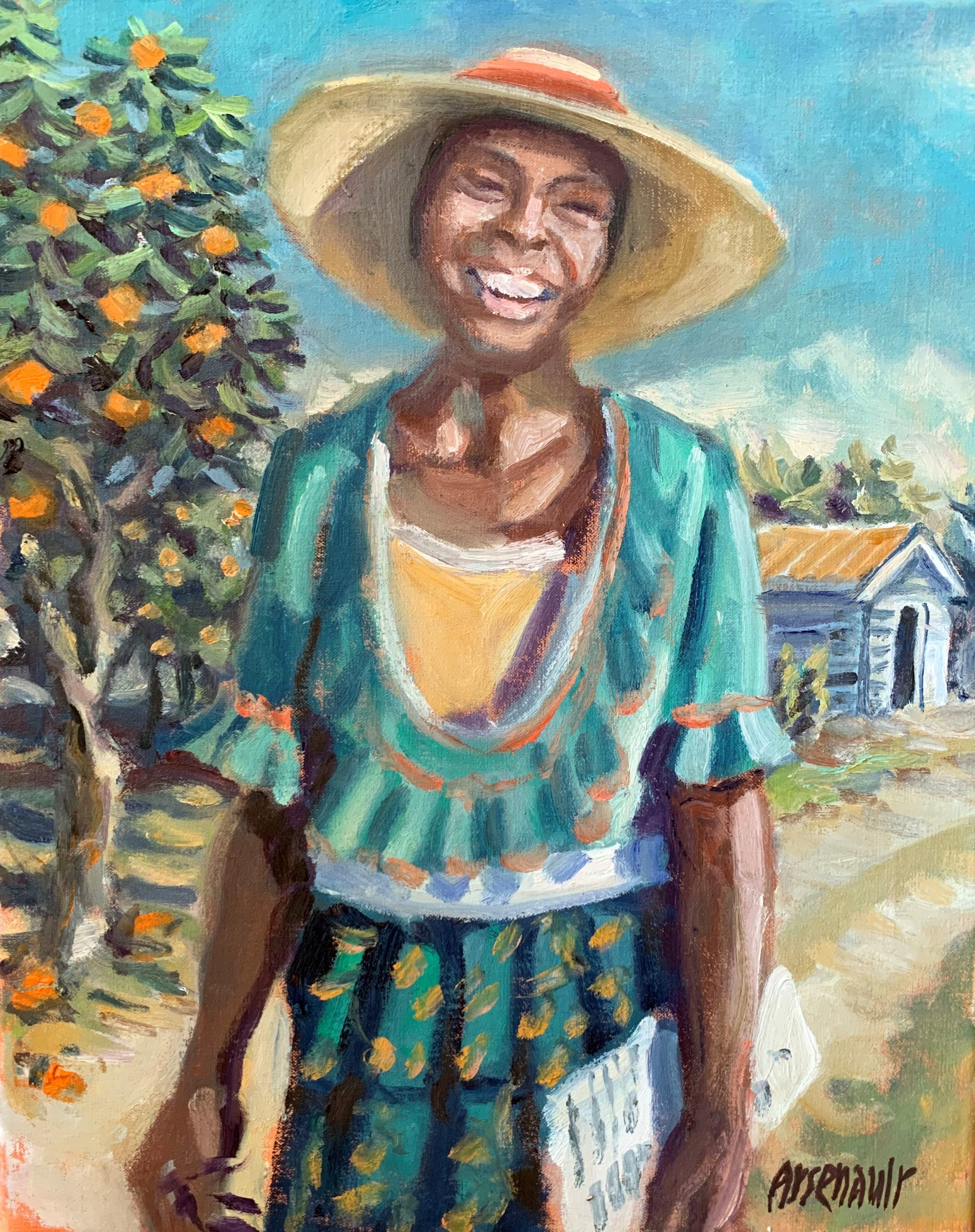 Zora Neale Hurston_Painting by Paul Arsenault