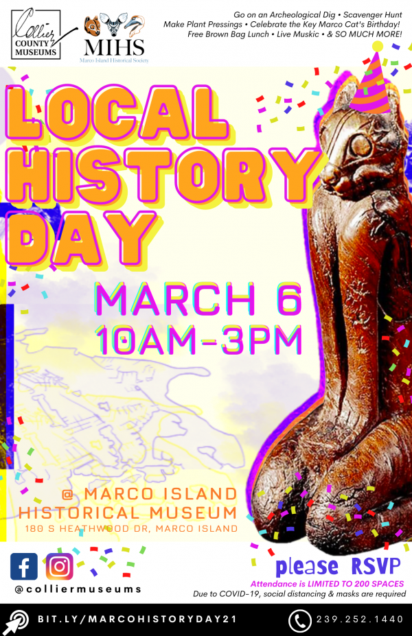 Marco Island Local History Day 2021