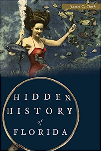 "Book Cover of ""Hidden HIstory of Florida"" image"