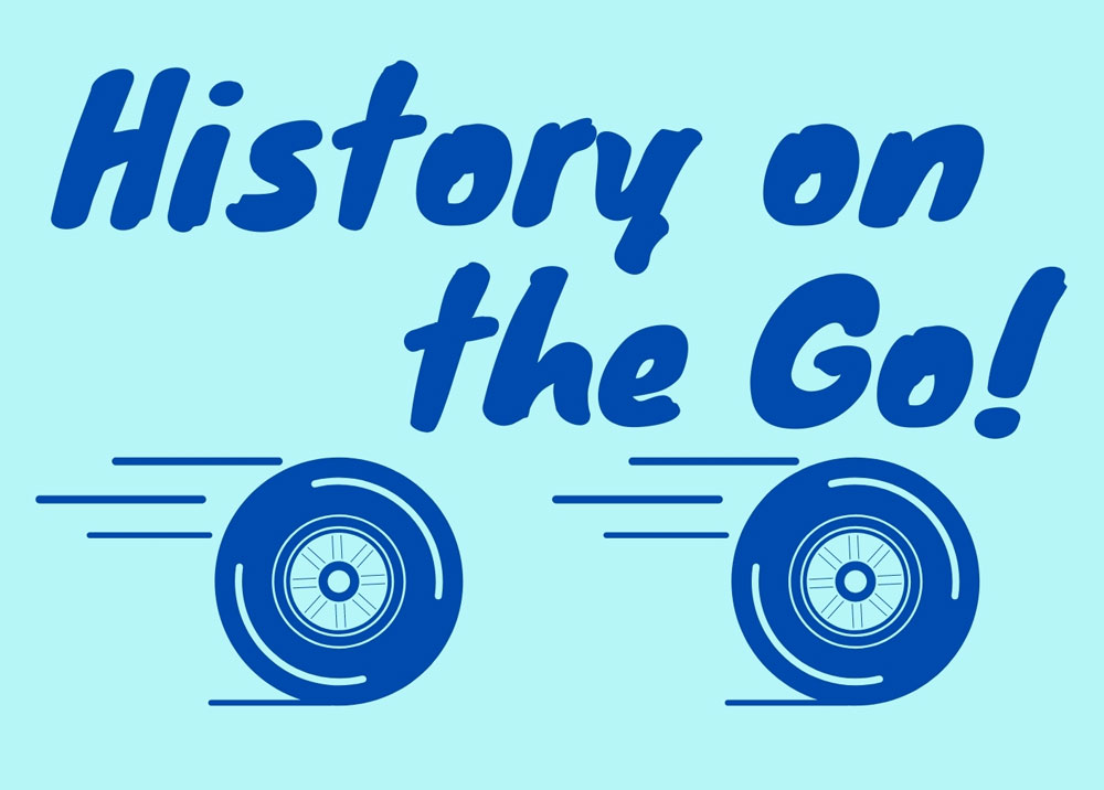 Logo that says History on the Go