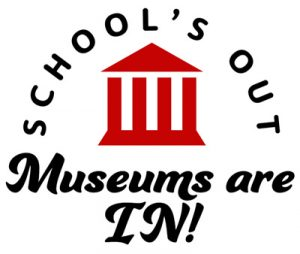 School's Out, Museums are In Logo
