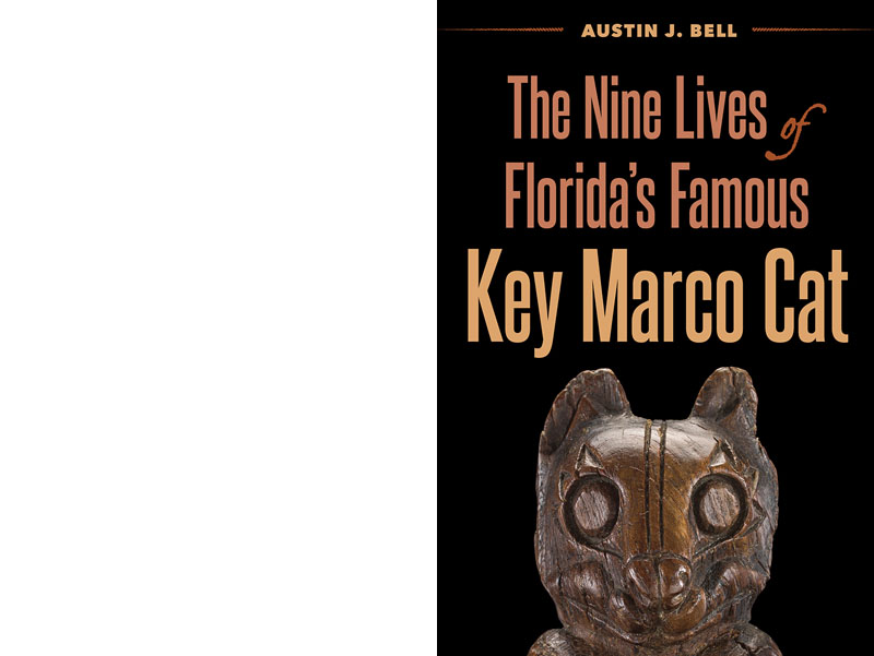 """Cover of the book """"The Nine Lives of Florida's Famous Key Marco Cat"""